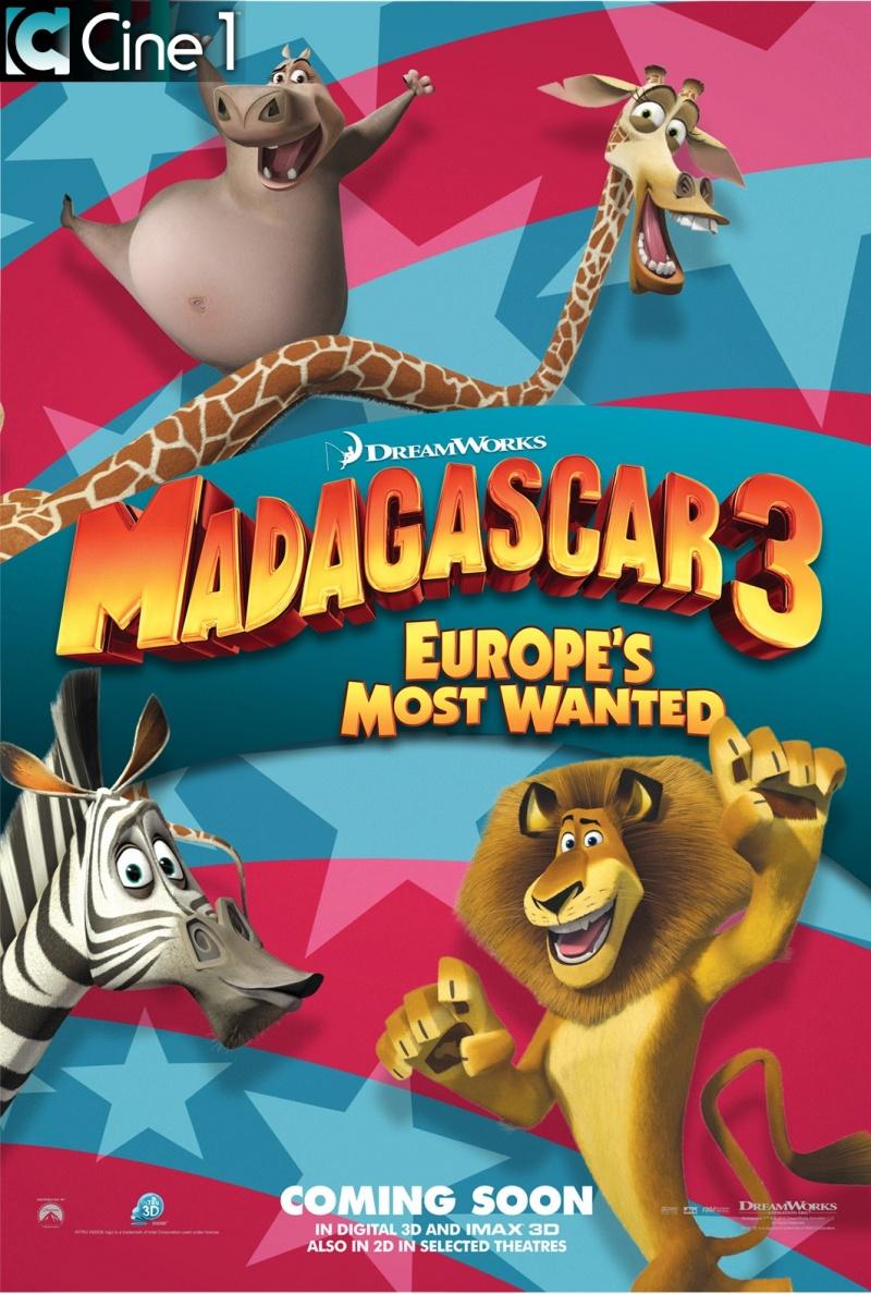 Мадагаскар 3 СМОТРЕТЬ ОНЛАЙН